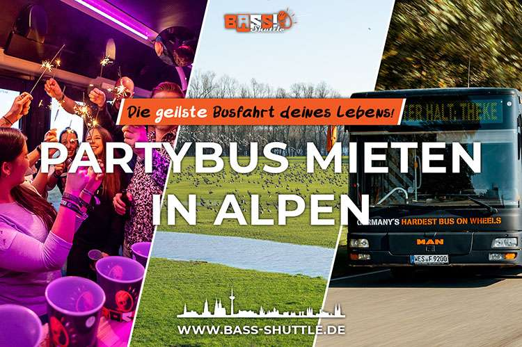 Partybus Alpen
