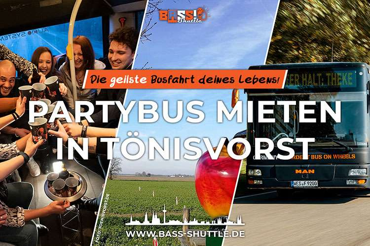 Partybus Tönisvorst